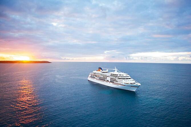 Технології Море, Корабель, Круїзний лайнер, Пальми, Острови 229416744