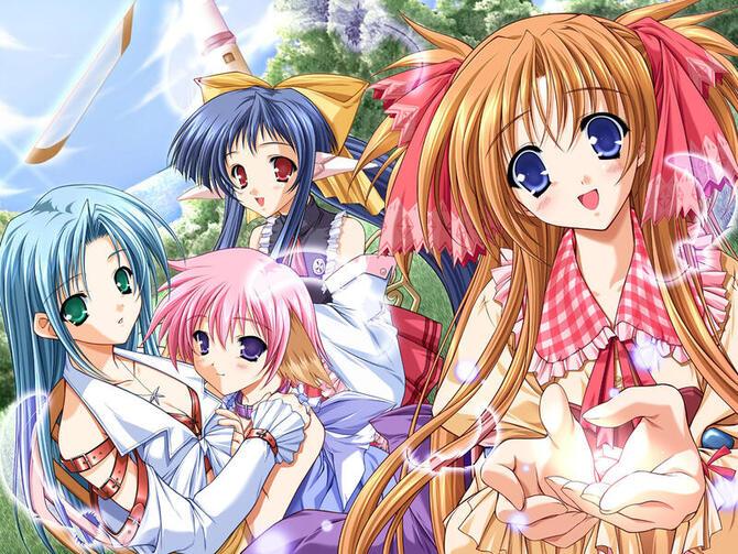 Аніме, Дівчата / Жінки Аниме Девушки, Аніме Дівчата, Anime Girls id35702167