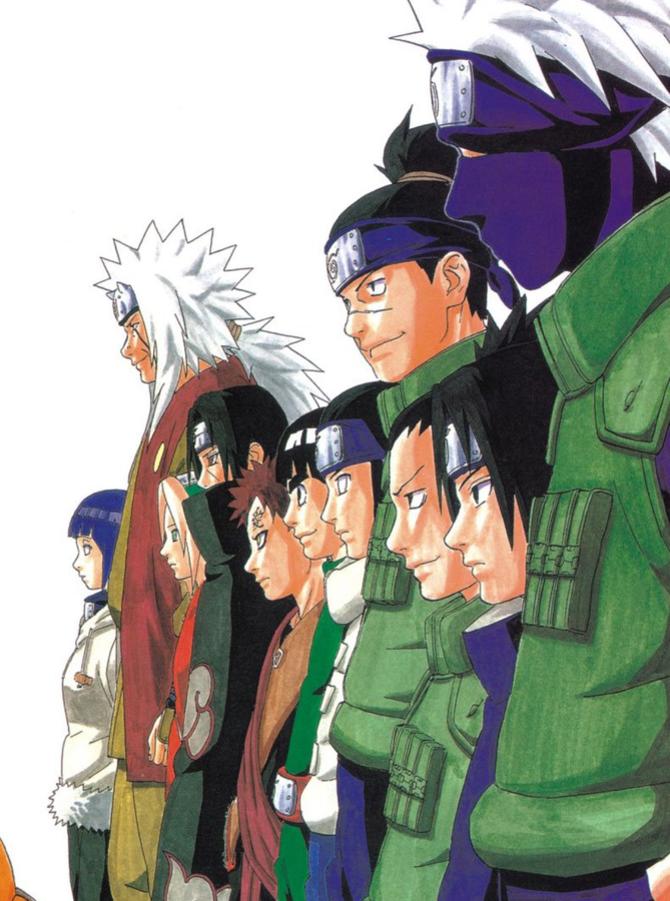 Аніме Арт, Naruto, Sasuke Uchiha, Sakura Haruno, Gaara 655333158