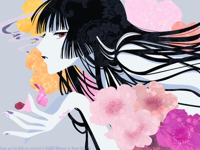 Аніме Триплексоголик, XXX holic, Юко Итихара, 壱原侑子, Ichihara Yuuko, Kimihiro Watanuki id2129177165