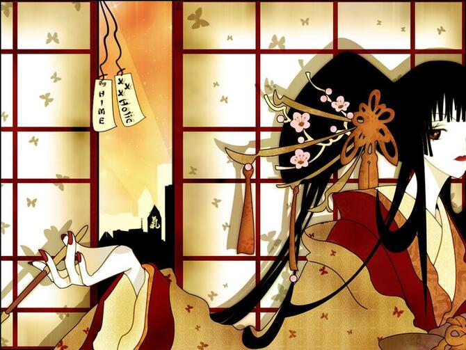 Аніме Триплексоголик, XXX holic, Юко Итихара, 壱原侑子, Ichihara Yuuko, Kimihiro Watanuki id848277750