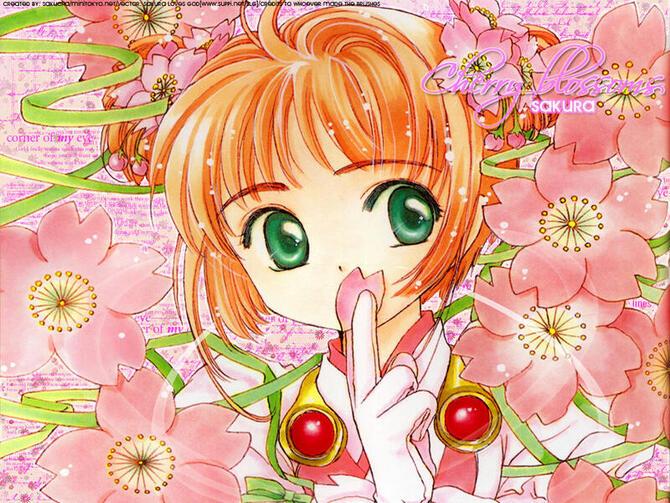 Аніме Cardcaptor Sakura, Сакура — ловец карт, Ловець карт Сакура id921682173