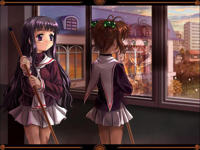 Аніме Cardcaptor Sakura, Сакура — ловец карт, Ловець карт Сакура id66845307