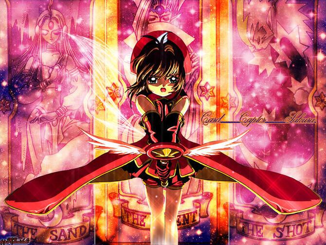 Аніме Cardcaptor Sakura, Сакура — ловец карт, Ловець карт Сакура id792544358