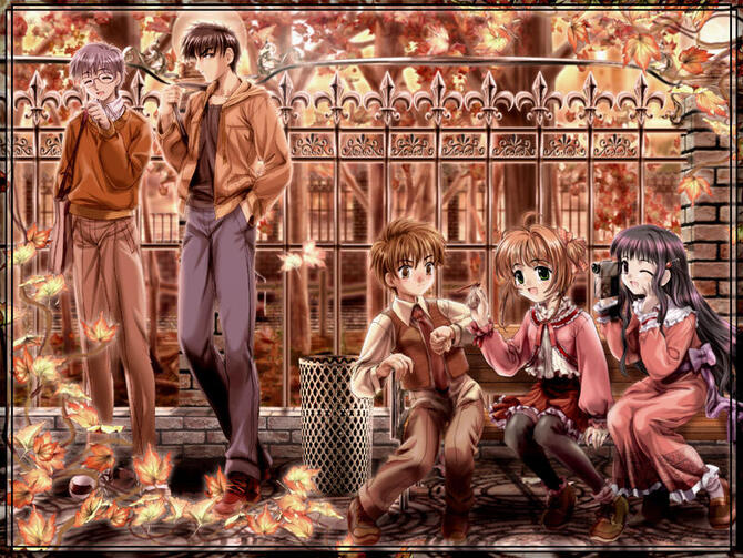 Аніме Cardcaptor Sakura, Сакура — ловец карт, Ловець карт Сакура id750647801