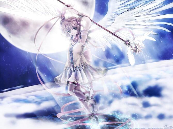 Аніме Cardcaptor Sakura, Сакура — ловец карт, Ловець карт Сакура id2112255964
