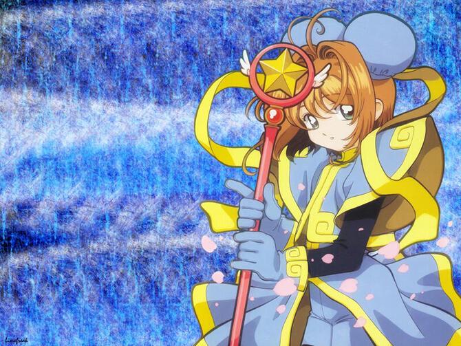 Аніме Cardcaptor Sakura, Сакура — ловец карт, Ловець карт Сакура id778485230
