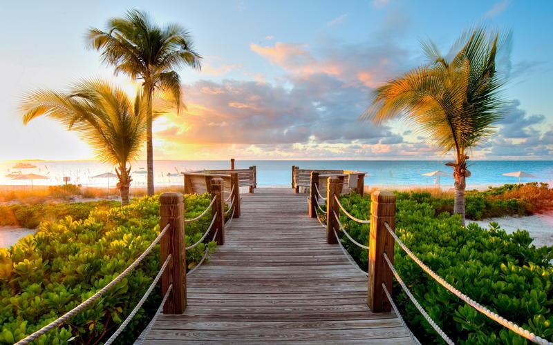 Природа Пальми, Захід сонця, Схід сонця, Море, Острови 1999645859
