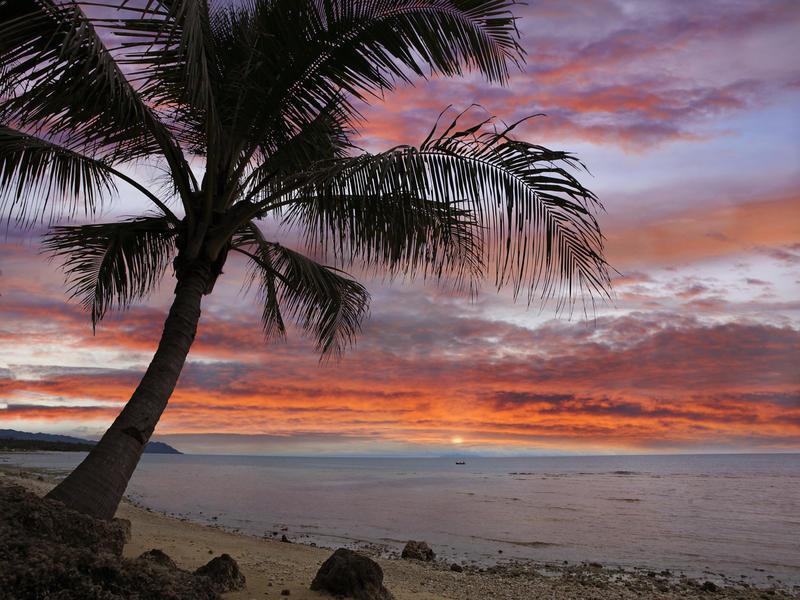Природа Пальми, Захід сонця, Схід сонця, Море, Острови 842147770