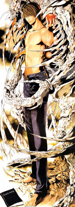 Аніме Арт, Death Note, Тетрадь смерти, Light Yagami, Misa Amane, Ryuk, Rem, L, Mello, Near 845562316