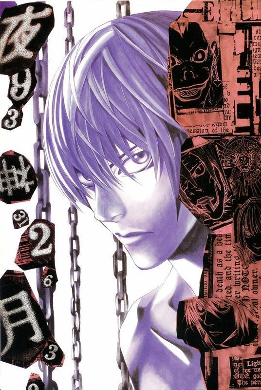 Аніме Арт, Death Note, Тетрадь смерти, Light Yagami, Misa Amane, Ryuk, Rem, L, Mello, Near 160675757