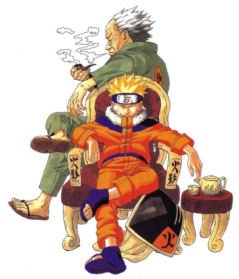 Аніме Арт, Naruto, Sasuke Uchiha, Sakura Haruno, Kakashi Hatake, Tsunade, Хокаге 998666297