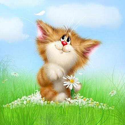 Арт, Позитив, Природа Гумор, Тварини, Котики, Коти, Кошенята 390388729