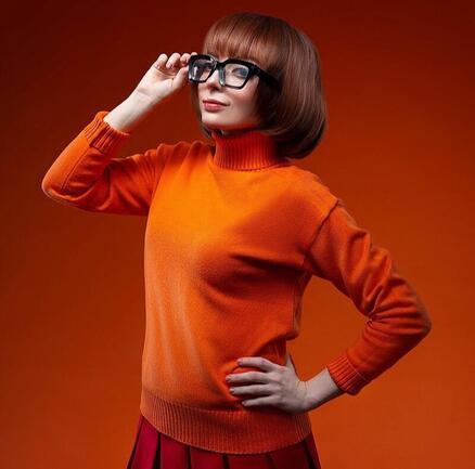 Дівчата / Жінки, Косплей, Мультфільми Scooby-Doo, Velma, Daphne id1693995955
