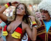 Девушки / Женщины, Личные Фото Работы Fußball, Fußballfan, Große Brüste, Sexy Blondine id8945368