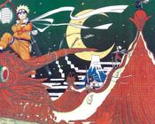 Аніме Арт, Naruto, Sasuke Uchiha, Sakura Haruno, Kakashi Hatake, Tsunade 221442175