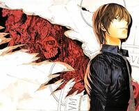 Аніме Арт, Death Note, Тетрадь смерти, Light Yagami, Misa Amane, Ryuk, Rem, L, Mello, Near 1355261238