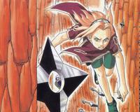 Аніме Арт, Naruto, Sasuke Uchiha, Sakura Haruno, Kakashi Hatake, Tsunade 1332896097