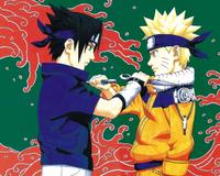 Аніме Арт, Naruto, Sasuke Uchiha, Sakura Haruno, Kakashi Hatake, Tsunade, Хокаге 209823530