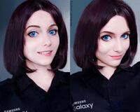 Дівчата / Жінки, Косплей, Технології Sam (Samsung virtual assistant), Sam (Samsung girl), Samsung Galaxy, Sexy Cosplay id699360944