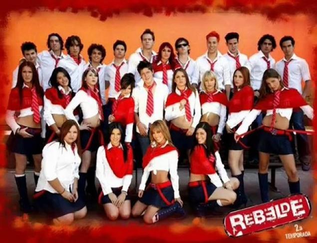 Копия Rebelde way - Сериал Мятежники (Мексика)
